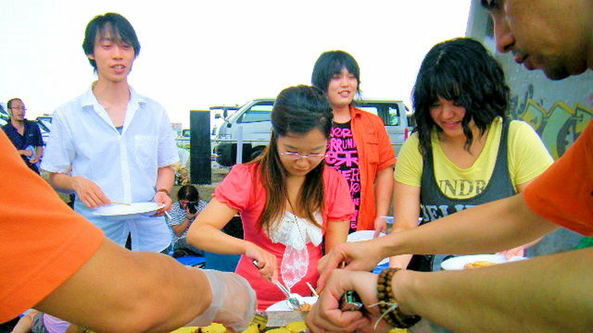 出張ケータリング屋台バーベキュー同窓会・クラス会パーティー鉄板焼き料理プラン #5