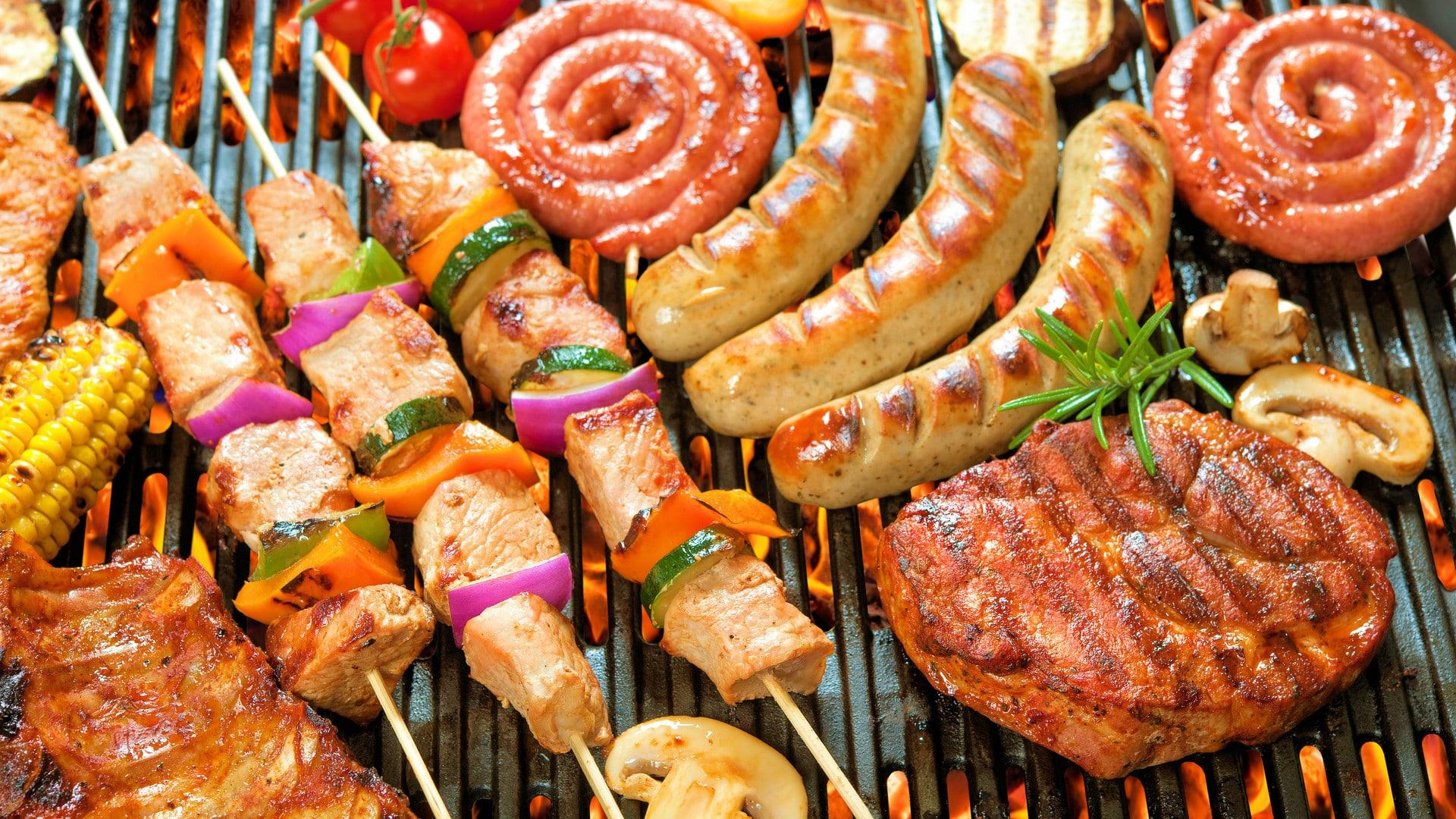 出張ケータリング屋台バーベキュー社内向けファミリーパーティー鉄板焼き料理プラン #4