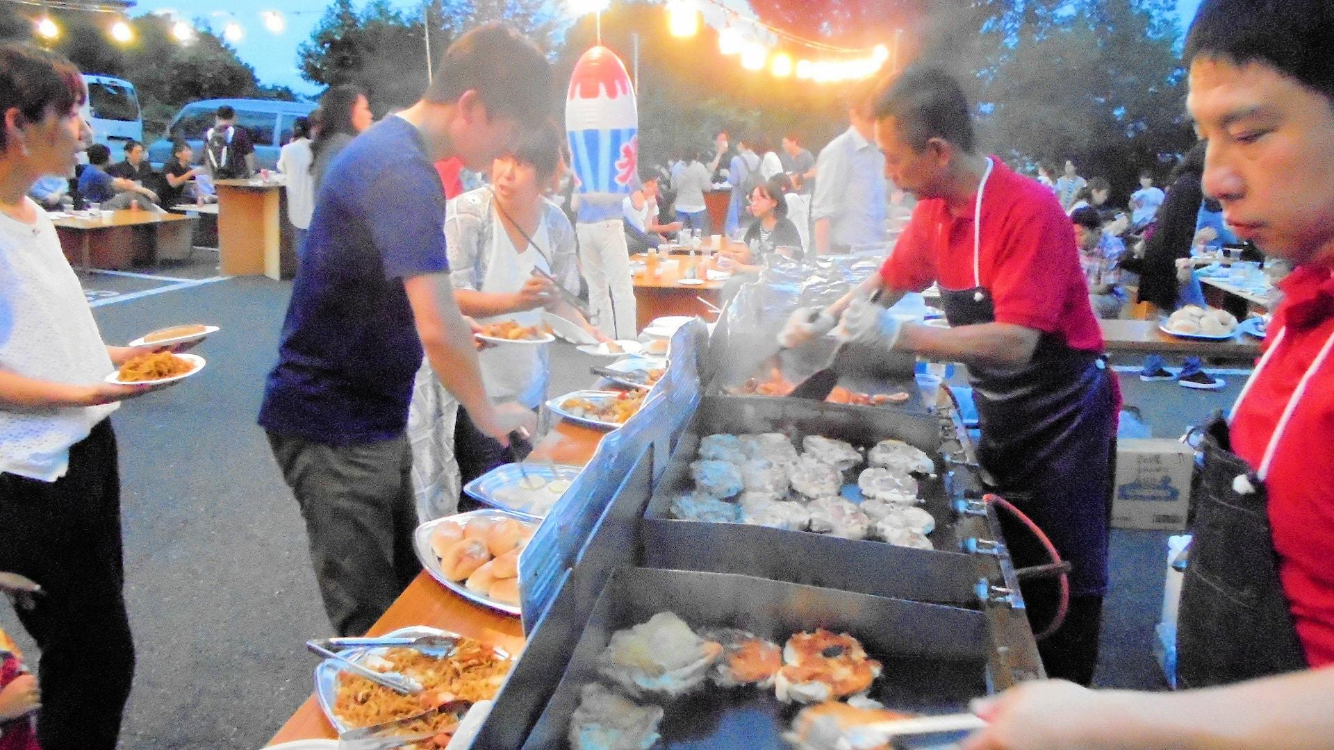 出張ケータリング屋台バーベキュー懇親会・親睦会パーティー鉄板焼き料理プラン #1