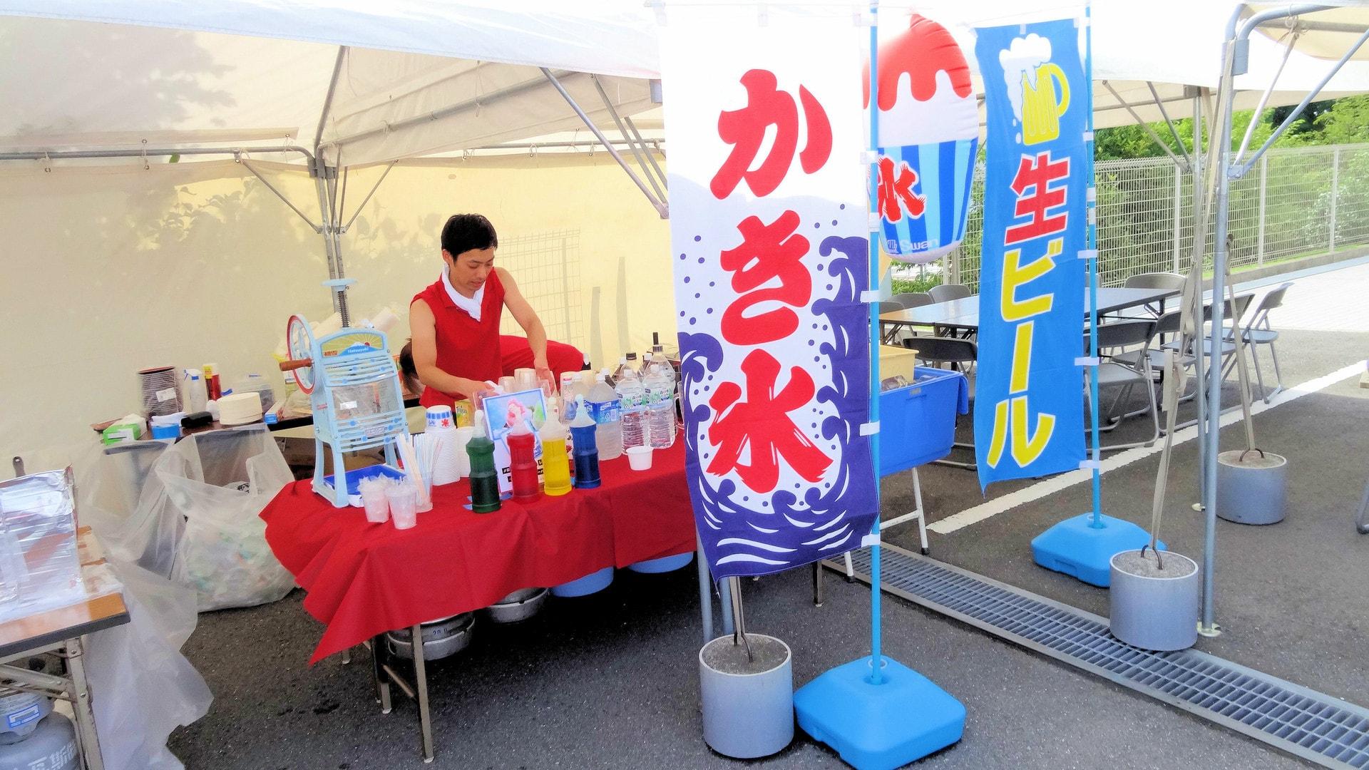 出張ケータリング屋台バーベキュー納涼会・暑気払いパーティー鉄板焼き料理プラン #4